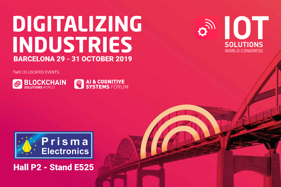 Prisma Electronics at IoT Solutions World Congress 2019